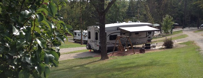 Hocking hills full hookup camping